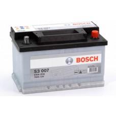 Аккумулятор 70 BOSCH 6СТ-70 H R+ (S3007)