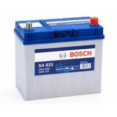 Аккумулятор 45 BOSCH 6СТ-45 АЗИЯ R+ (S4021)