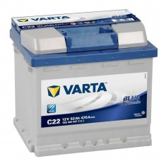 Аккумулятор 52 VARTA BLUE DYNAMIC (C22) 6СТ-52 552400047