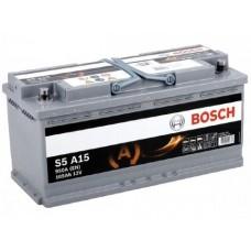 Аккумулятор 105 BOSCH AGM 6CT-105 R+ (S5A150)