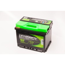 Аккумулятор 62 ENERGY 6СТ-62 L+