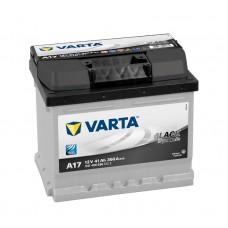 Аккумулятор 41 VARTA BLACK DYNAMIC (A17) 6СТ-41 541400036