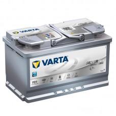 Аккумулятор 80 VARTA SILVER DYNAMIC AGM (F21) 6СТ-80 580901080