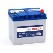 Аккумулятор 60 BOSCH 6СТ-60 АЗИЯ R+ (S4024)