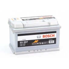 Аккумулятор 74 BOSCH 6СТ-74 H R+ (S5007)