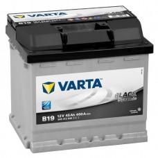 Аккумулятор 45 VARTA BLACK DYNAMIC (B19) 6СТ-45 545412040
