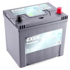 Аккумулятор 65 Exide Premium 6СТ-65 АЗИЯ R+ (EA654)