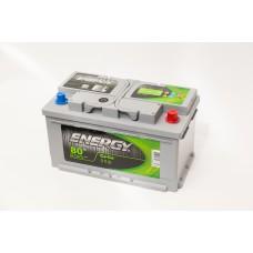 Аккумулятор 80 ENERGY 6СТ-80 R+