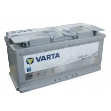 Аккумулятор 105 VARTA SILVER DYNAMIC AGM (H15) 6СТ-105 605901095