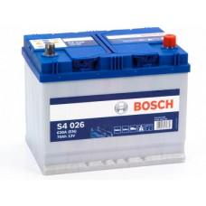 Аккумулятор 70 BOSCH 6СТ-70 АЗИЯ R+ (S4026)