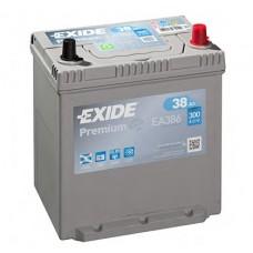 Аккумулятор 38 Exide Premium 6CT-38 АЗИЯ R+ (EA386)