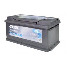 Аккумулятор 85 Exide Premium 6СТ-85 Н R+ (EA852)