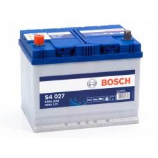 Аккумулятор 70 BOSCH 6СТ-70 АЗИЯ L+ (S4027)