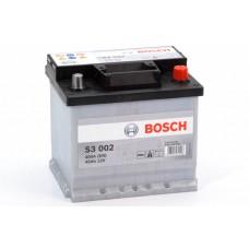 Аккумулятор 45 BOSCH 6СТ-45 R+ (S3002)