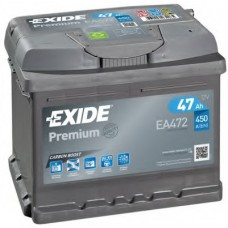Аккумулятор 47 Exide Premium 6СТ-47 R+ (EA472)