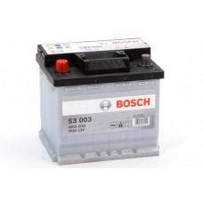 Аккумулятор 45 BOSCH 6СТ-45 L+ (S3003)