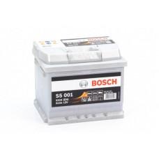 Аккумулятор 52 BOSCH 6СТ-52 Н R+ (S5001)