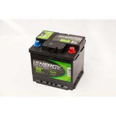 Аккумулятор 50 ENERGY 6СТ-50 R+